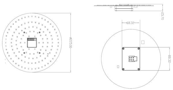 2D LED Line Drawing
