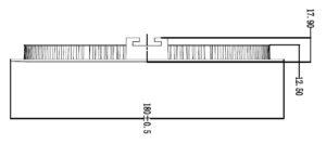 Roma 180 Line Drawing