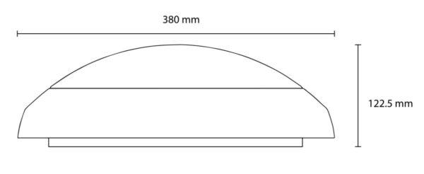 Solar LED Dimensions
